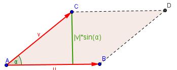 Vektorový součin obsah rovnoběžníku